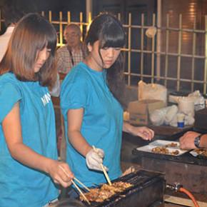 8月27日 懇親会BBQ